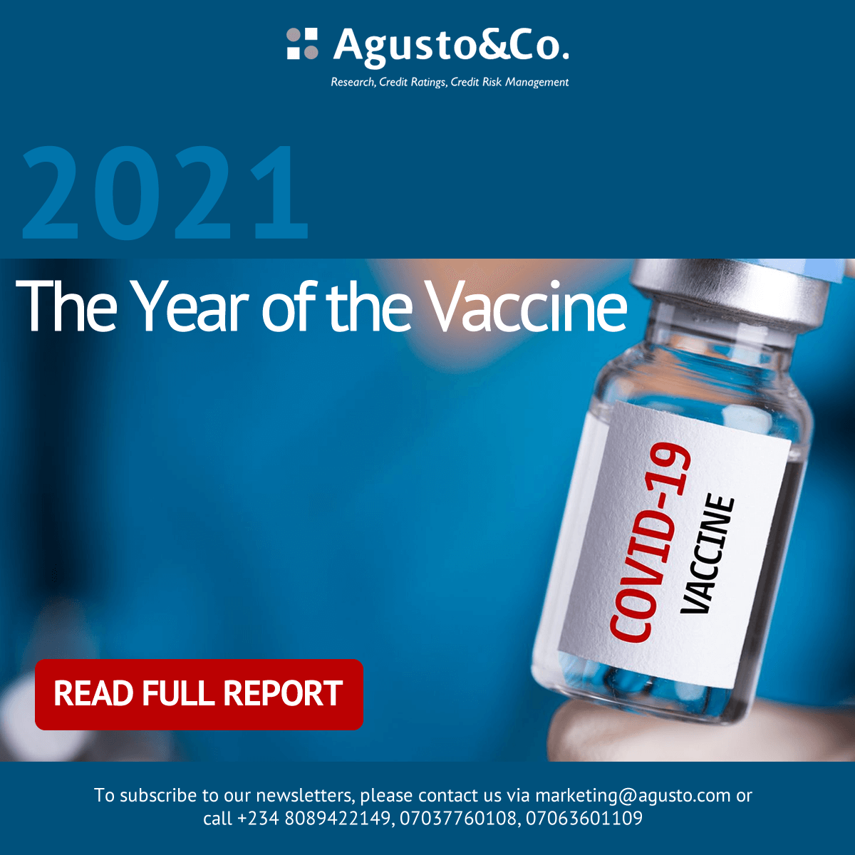 2021: The Year of the Vaccine